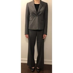 Theory Buckingham Check 2 pc. Pants Suit - Size 6